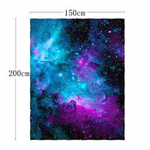Load image into Gallery viewer, QH with Galaxy Velvet Plush Throw Blanket(Large) Super Soft - EK CHIC HOME