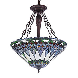 Tiffany Pendant, One Size, Multi-Colored - EK CHIC HOME