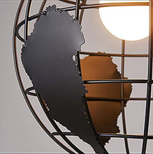 Load image into Gallery viewer, Industrial Earth Shape Globe Map Pendant Light Edison Ceiling Light Fixture - EK CHIC HOME