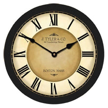 Load image into Gallery viewer, Rare 48-Inch Black Wall Clock Whisper Quiet - EK CHIC HOME