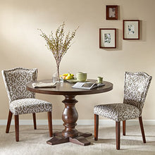 Load image into Gallery viewer, Charles Round Solid Wood Dining Table Brown - EK CHIC HOME