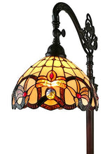 "Load image into Gallery viewer, Tiffany Victorian Reading Floor Lamp, 62"" - EK CHIC HOME"