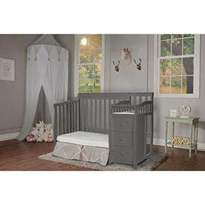 Jayden 4-in-1 Mini Convertible Crib And Changer - EK CHIC HOME