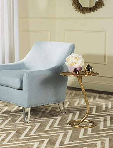 Gold Foil Side Table - EK CHIC HOME