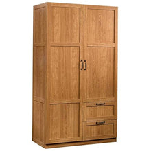 Load image into Gallery viewer, Wardrobe Armoire in Highland Oak - EK CHIC HOME