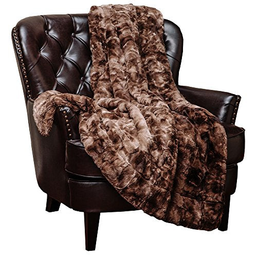 Super Soft Luxurious Fluffy Plush Hypoallergenic Blanket (60