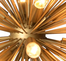 Load image into Gallery viewer, Light Chandelier in Gold Finish - EK CHIC HOME