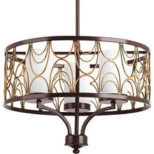 "Load image into Gallery viewer, 79.5"" x 18"" x 13.5"", Antique Bronze Chandelier - EK CHIC HOME"