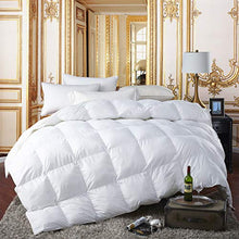 Load image into Gallery viewer, Egyptian King Size Luxury Siberian Goose Down Comforter - EK CHIC HOME