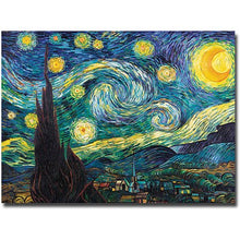 "Load image into Gallery viewer, ""Starry Night"" Canvas Art - EK CHIC HOME"