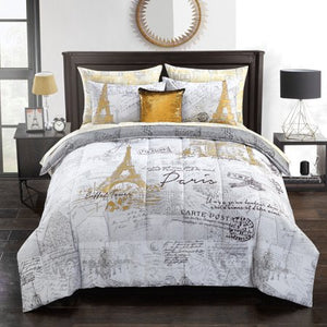 Voyager En Paris Bed In A Bag - EK CHIC HOME