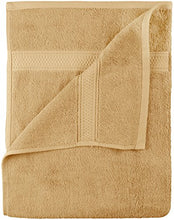 Load image into Gallery viewer, Premium 8 Piece Towel Set (Beige); 2 Bath Towels, 2 Hand Towels and 4 Washcloths - Cotton - Machine Washable, Hotel Quality, - EK CHIC HOME