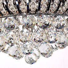 Load image into Gallery viewer, LED Modern Chandelier Crystals Pendant Flush Mount Ceiling Light - EK CHIC HOME