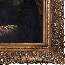 Load image into Gallery viewer, Mona Lisa with Burgeon Gold Frame Oil Painting by Da Vinci - EK CHIC HOME