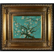 Load image into Gallery viewer, Branches of an Almond Tree in Blossom Canvas Art by Van Gogh with Regency Gold Frame/Finish: Oil Paintings: Paintings - EK CHIC HOME