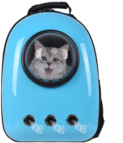 Astronaut Pet Cat Dog Puppy Carrier Travel Bag Space Capsule - EK CHIC HOME