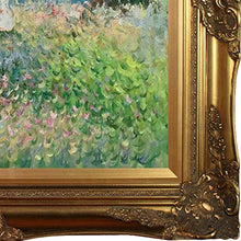 Load image into Gallery viewer, Cliff Walk at Pourville Painting with Victorian Gold Frame by Monet - EK CHIC HOME
