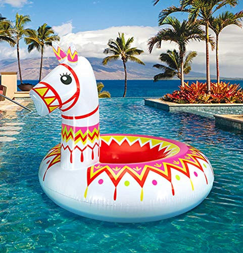 Llama Pool Float Party Water Toys Supplies - for Adults & Kids - EK CHIC HOME