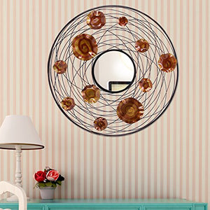 Chic Art Mirror Wall Decor Decoration - EK CHIC HOME