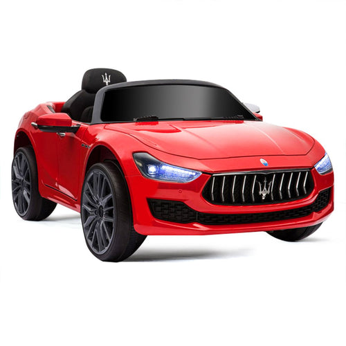 Licensed Maserati 12V Rechargeable Battery Powered Electric Car w/ 2 Motors - EK CHIC HOME