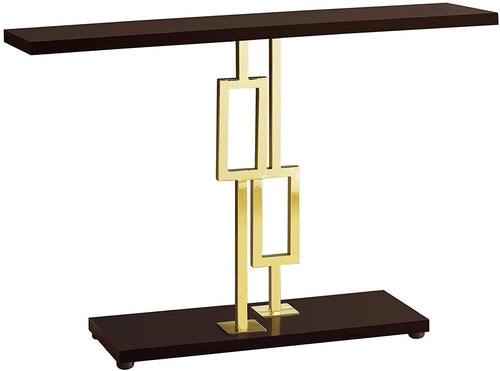 CONSOLE ACCENT TABLE, CAPPUCCINO ( VARIATIONS ) - EK CHIC HOME