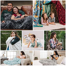"Load image into Gallery viewer, Fur Elegant Rectangular Embossed Throw Blanket (50"" x 65"") - EK CHIC HOME"