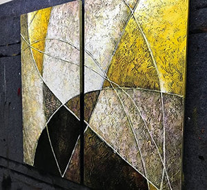 32x32 Inch Paintings Oil Hand Painting 3D Hand-Painted On Canvas Abstract Artwork - EK CHIC HOME