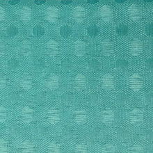 Load image into Gallery viewer, Ombre Textured Shower Curtain with Beaded Rings, Turquoise - EK CHIC HOME