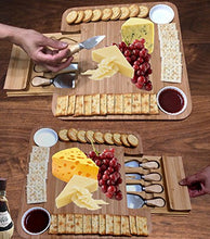 Load image into Gallery viewer, Cheese Board with Cutlery Set - EK CHIC HOME