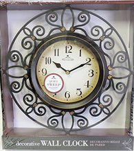 Load image into Gallery viewer, Wall Clock Quiet Sweep Second Hand Non Ticking Technology Hand Quartz Movement - EK CHIC HOME