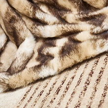 "Load image into Gallery viewer, Faux Fur Throw, Fur Blankets Super Soft 60""x70 - EK CHIC HOME"