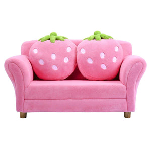 Children Sofa, Kids Couch Armrest Chair, Upholstered Living Room Furniture, Lounge Bed - EK CHIC HOME