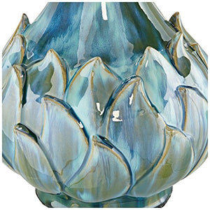 Euro Kenya Blue-Green Ceramic Table Lamp - EK CHIC HOME