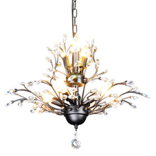 Load image into Gallery viewer, 7-Light Vintage Crystal Chandeliers Ceiling Lights Crystal Pendant - EK CHIC HOME
