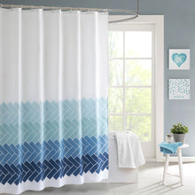 Load image into Gallery viewer, HOFNEN Shower Curtain with Hooks Waterproof Bathtub Curtains for Bathroom 72 x 72 inches - EK CHIC HOME