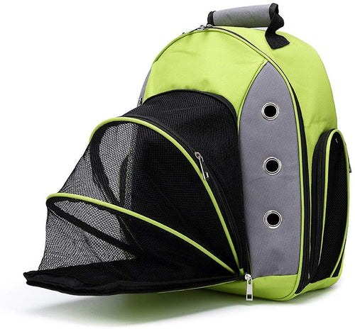 Pet Carriers Backpack for Small Cat&Dog Double Shoulders Straps Ventilated - EK CHIC HOME