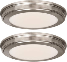 Load image into Gallery viewer, (2 PACK) 13 inch LED Ceiling Flush Mount - EK CHIC HOME