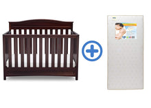 Load image into Gallery viewer, 4-in-1 Convertible Baby Crib, White - EK CHIC HOME