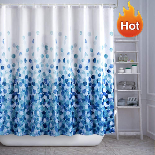 ARICHOMY Shower Curtain Set Bathroom Fabric Curtains Bath Waterproof Colorful - EK CHIC HOME