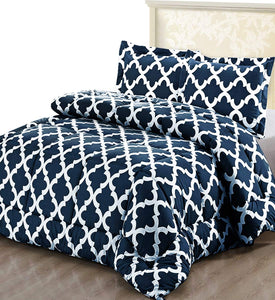 Luxurious Brushed Microfiber - Goose Down Alternative Comforter SET - EK CHIC HOME