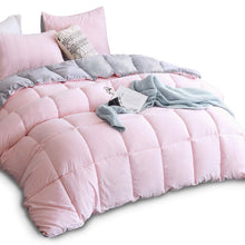 Load image into Gallery viewer, All Season Down Alternative Quilted Comforter Set with Sham(s) - EK CHIC HOME