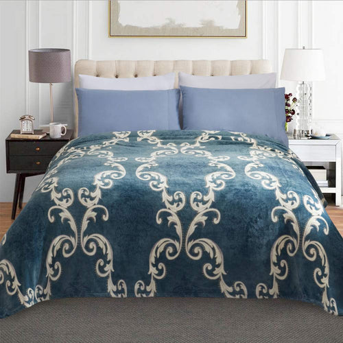 Luxury Flannel Fleece Blanket - Ultra Plush - EK CHIC HOME