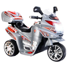 Load image into Gallery viewer, Ride On Motorcycle, 6V Battery Powered 3 Wheels Electric Bicycle, Ride On Vehicle with Music, Horn, Headlights for Kids - EK CHIC HOME