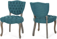 Load image into Gallery viewer, Tufted Dining Chair with Cabriolet Legs (Set of 2) - EK CHIC HOME