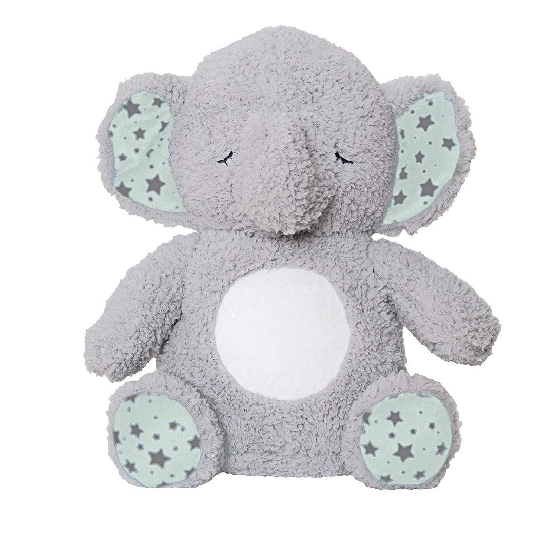 Soft Dreams Elephant Music and Glow Soother, - EK CHIC HOME