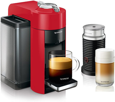 Nespresso - Espresso Machine Bundle with Aeroccino Milk Frother - EK CHIC HOME