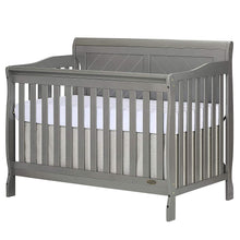 Load image into Gallery viewer, Ashton Full Panel Convertible 5-in-1 Crib, Storm Grey - EK CHIC HOME