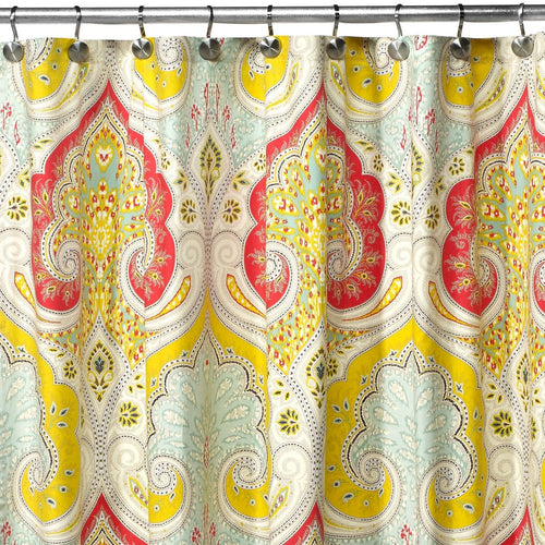 DS BATH Medina Saffron Shower Curtain - EK CHIC HOME