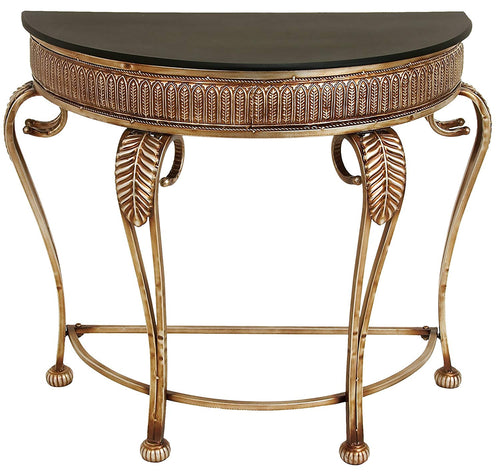 Deco 79 Metal Console Table, 41 by 33-Inch - EK CHIC HOME