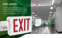 Load image into Gallery viewer, 2 Pack Double Sided LED Emergency EXIT Sign - EK CHIC HOME